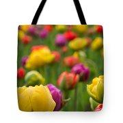 Triumphant Tulips Tote Bag