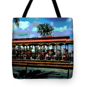 Trolley Stop Tote Bag
