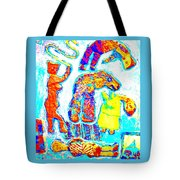 Trolls Also Have Families Tote Bag