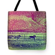 Now And Then You Dream Of The Old Fields Back Home  Tote Bag