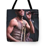 Musician Trombone Shorty Tote Bag