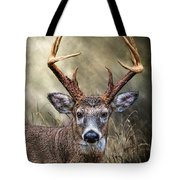Trophy 10 Point Buck Tote Bag