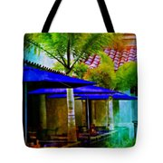 Tropical Al Fresco Tote Bag