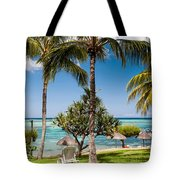 Tropical Beach. Mauritius Tote Bag
