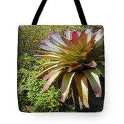 Tropical Bromeliad Tote Bag