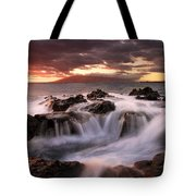 Tropical Cauldron Tote Bag