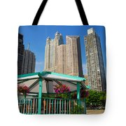 Tropical Chicago Tote Bag