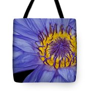 Tropical Day Flowering Waterlily Tote Bag