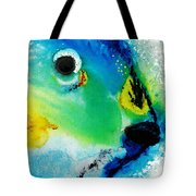 Tropical Fish 2 - Abstract Art By Sharon Cummings Tote Bag