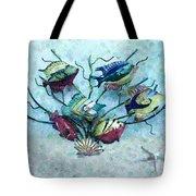 Tropical Fish 4 Tote Bag