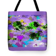 Tropical Fish Abstraction Tote Bag