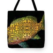 Tropical Fish Art 14 By Sharon Cummings Tote Bag