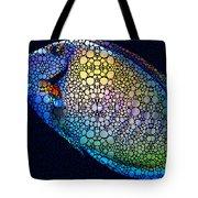 Tropical Fish Art 6 - Painting By Sharon Cummings Tote Bag