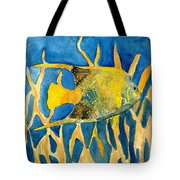 Tropical Fish Art Print Tote Bag
