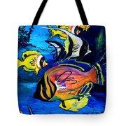 Tropical Fish Tote Bag by Karon Melillo DeVega