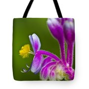 Tropical Flower Detail Tote Bag
