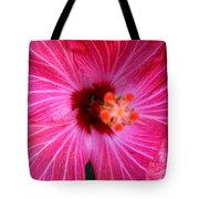 Tropical Flower Time Tote Bag