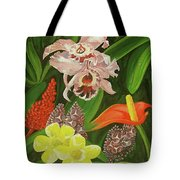 Tropical Foliage Tote Bag