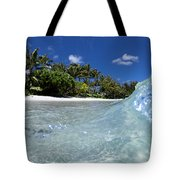 Tropical Glass Tote Bag
