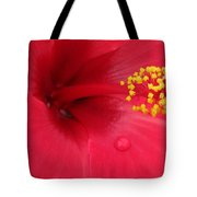 Tropical Hibiscus - Antigua Wind 01 Tote Bag