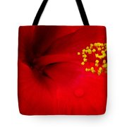 Tropical Hibiscus - Antigua Wind 01a Tote Bag