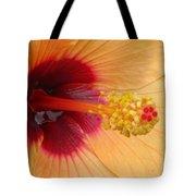 Tropical Hibiscus - Aruba Wind 01 Tote Bag