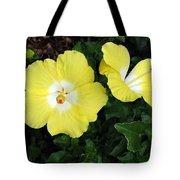 Tropical Hibiscus - Bonaire Wind 02 Tote Bag
