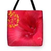 Tropical Hibiscus - Trinidad Wind 01 Tote Bag