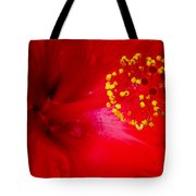 Tropical Hibiscus - Trinidad Wind 02a Tote Bag