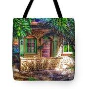 Tropical House Tote Bag