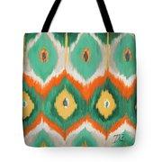 Tropical Ikat II Tote Bag