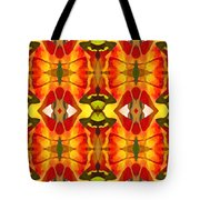 Tropical Leaf Pattern 2 Tote Bag