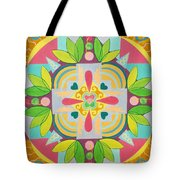 Tropical Mandala Tote Bag