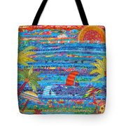 Tropical Moments Tote Bag by Susan Rienzo