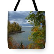 Tropical Mountain Ash Tote Bag