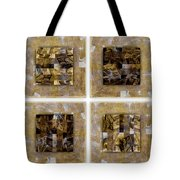 Tropical Panel Four Up Tote Bag