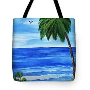 Tropical Path Tote Bag