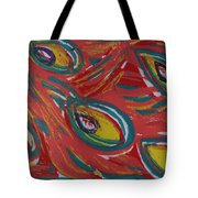 Tropical Peacock Tote Bag