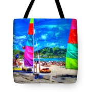 Tropical Sails Tote Bag