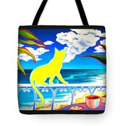 Sea Breeze And Coffee Tote Bag