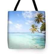 Tropical Sea In The Maldives - Indian Ocean Tote Bag