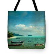 Tropical Seas Tote Bag