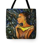 Tropical Shower Tote Bag