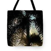 Tropical Silhouette Tote Bag