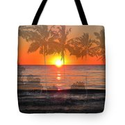 Tropical Spirits - Palm Tree Art By Sharon Cummings Tote Bag