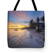 Tropical Sunrise Tote Bag