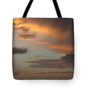 Tropical Sunset Sky Tote Bag