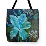 Tropical Turquoise Tote Bag