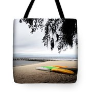 Tropical Watercraft Tote Bag