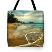 Tropical Waves Tote Bag